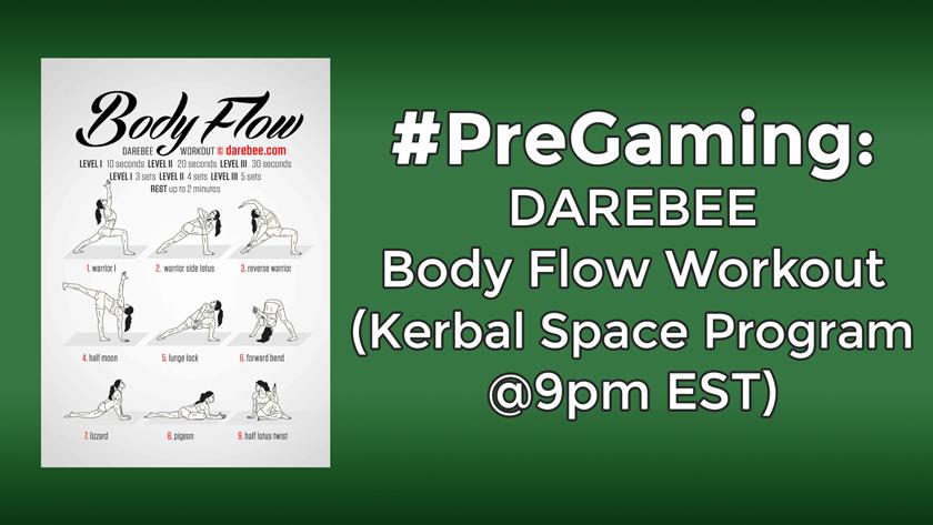 #PreGaming: DAREBEE Body Flow