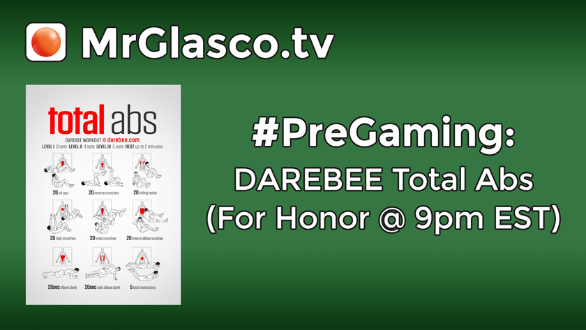 #PreGaming: DAREBEE Total Abs Workout