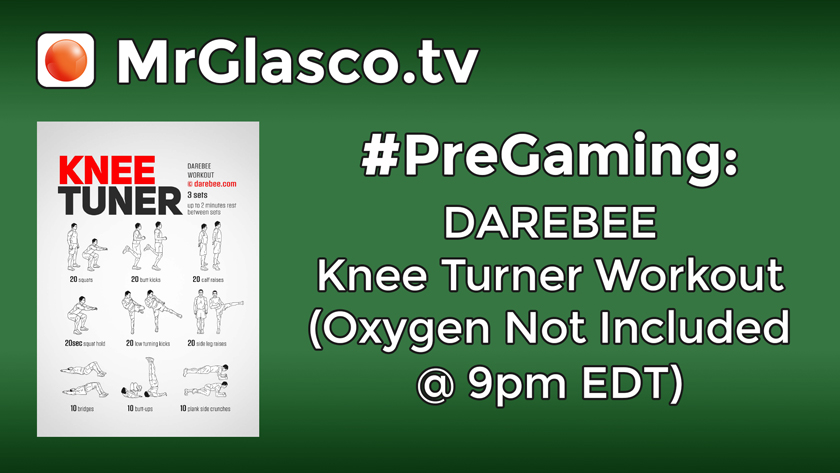 #PreGaming: DAREBEE Knee Turner Workout