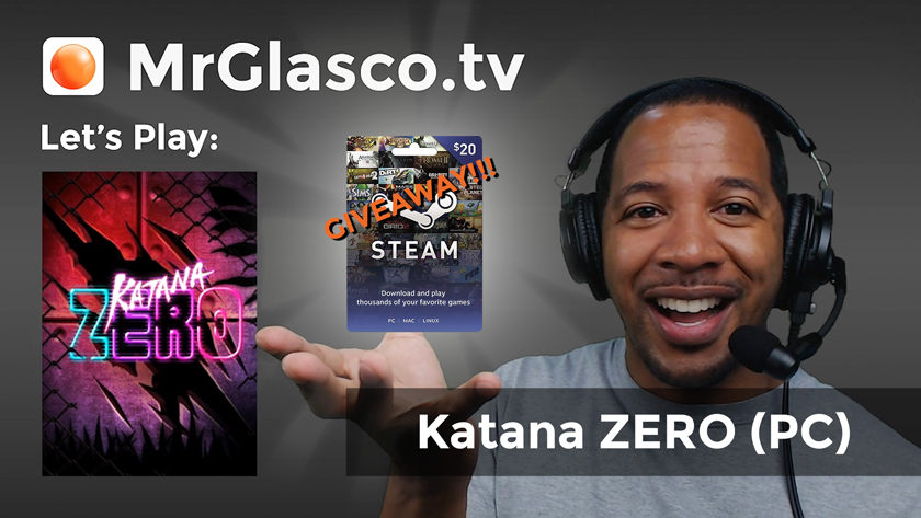 Let's Play: Katana ZERO (PC) New Game + GIVEAWAY!!!